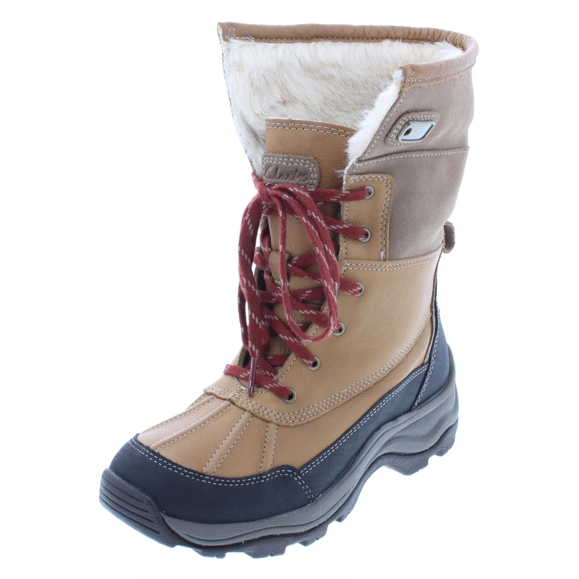 clarks winter boots womens off 59