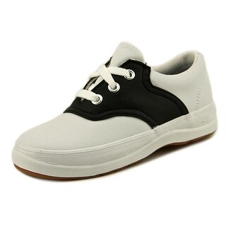 Keds School Days II Toddler Round Toe Leather White Sneakers