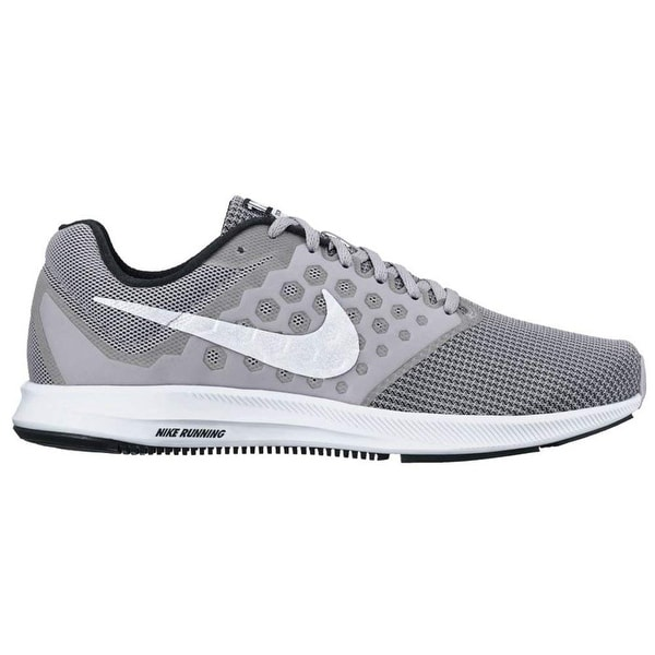 Shop Nike Men s Downshifter 7 Running Shoe Wolf Grey White Black Size 12 M  Us - Free Shipping Today - Overstock - 25592568 6448cd2a6