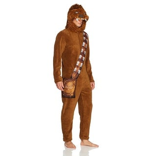 Star Wars Chewbacca Hooded Costume Union Suit