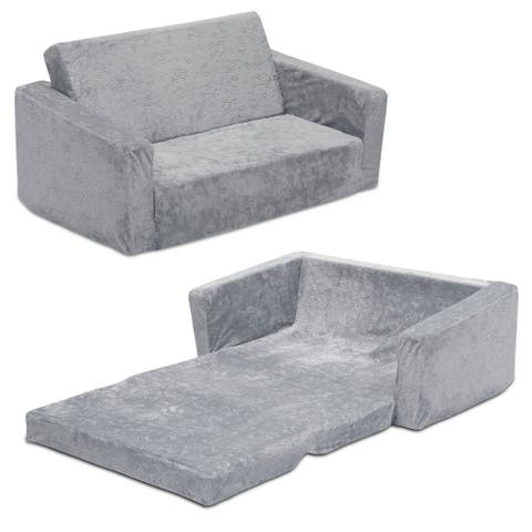 Serta Perfect Sleeper Extra Wide Convertible Sofa to Lounger