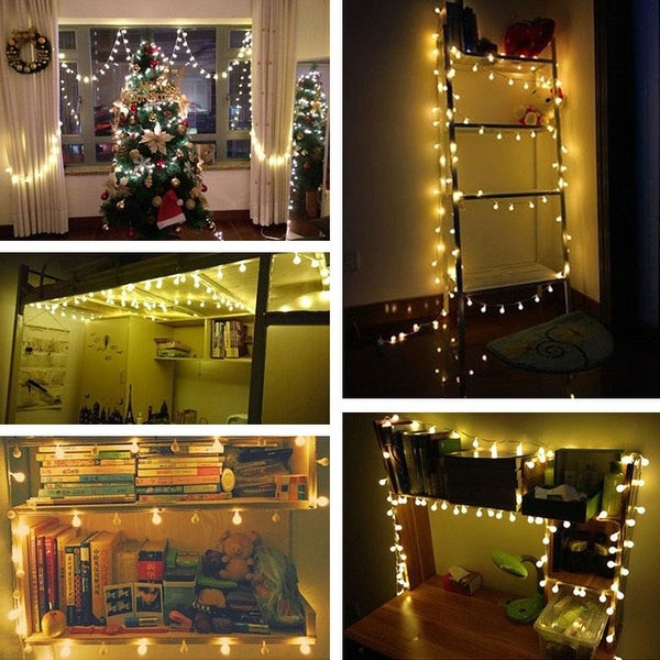 36 Pieces Christmas Light Bulb Hanging Swirl Decorations Party Swirl Foil Hanging Ceiling Decoration Christmas Ball Decorations for Christmas Light Bulb Party Supplies Decors