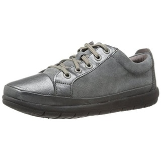 Easy Spirit e360 Womens Canisa Oxfords Leather Metallic