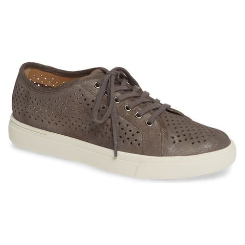 Vaneli Womens Oneida Fabric Low Top Lace Up Fashion Sneakers