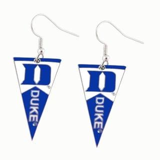 Duke Blue Devils NCAA Pennant Dangle Earring