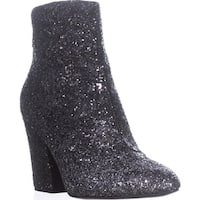 Nine West Savitra Ankle Boots, Silver/Black - 8 us