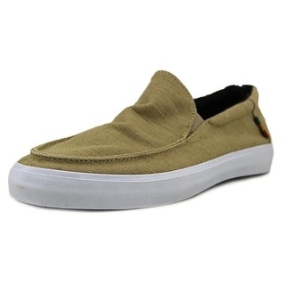 Vans Bali SF Men Round Toe Canvas Tan Loafer