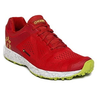 Icebug Men's DTS3 RB9X Traction Running Shoe - russet/white