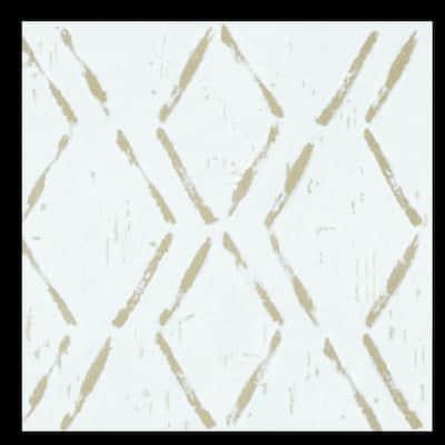 Retro Self Adhesive Vinyl Floor Tile - Diamond - 20 Tiles/20 sq. ft.