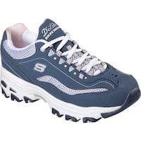 Skechers Women's D'lites Life Saver Sneaker Navy/White