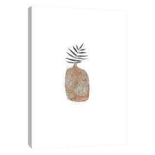 "PTM Images 9-105639  PTM Canvas Collection 10"" x 8"" - ""Potted Fern 3"" Giclee Ferns Art Print on Canvas"