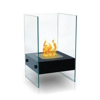 Hudson (Black) Bio Ethanol Ventless Fireplace