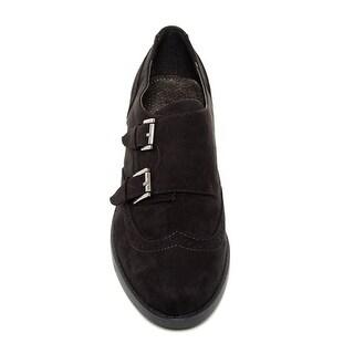 Indigo Rd. Womens Upton Closed Toe Oxfords, Black, Size 9.5