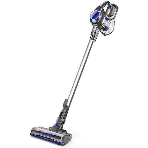 Cordless Vacuum 4 in 1 Powerful Suction Stick Handheld Vacuum Cleaner for Home Hard Floor Carpet Car Pet, Lightweight