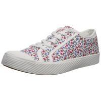 Palladium Womens Pallaphoenix Fabric Low Top Lace Up Fashion Sneakers