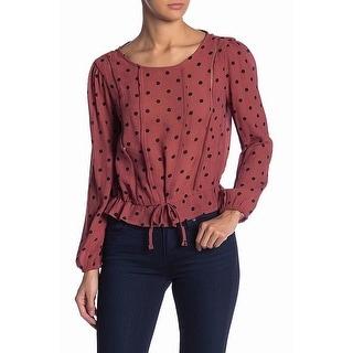 Shop Elodie Pink Black Women Size Medium M Polka Dot