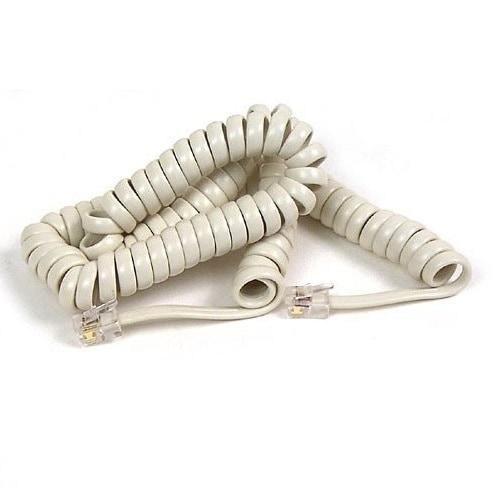 Belkin F8v101-12-Iv Coiled Telephone Handset Cord - Ivory