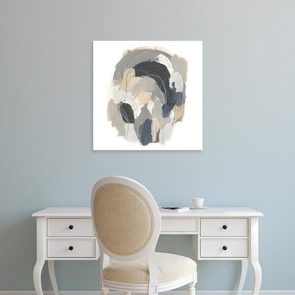 Easy Art Prints June Erica Vess's 'Neutral Vortex I' Premium Canvas Art