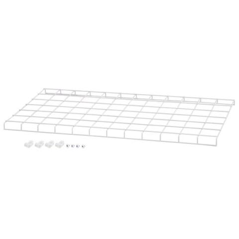 """Westinghouse 636346911 24"""" Wide Steel Wire Guard for Westinghouse 63634 High Bay - White"""
