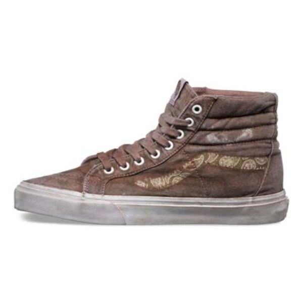 Vans Womens Sk8-HI Reissue+ Hight Top Lace Up Fashion Sneakers