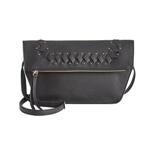 Danielle Nicole Womens Theia Crossbody Handbag Faux Leather Studded - small