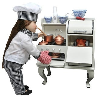 """The Queen's Treasures 1930's Style Stove, Kitchen Furniture for 18"""" Dolls and American Girl Doll"""