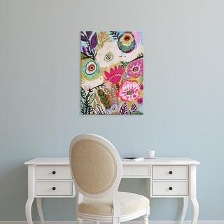 Easy Art Prints Karen Fields's 'Garden Birds I' Premium Canvas Art