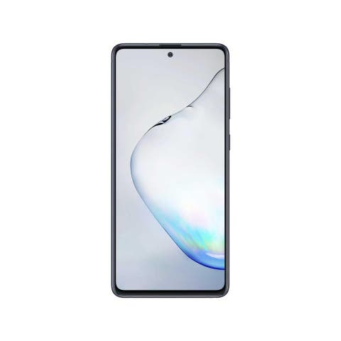 Samsung Galaxy Note 10 Lite 128GB 4G Dual SIM 8GB RAM Unlocked Phone - Aura Black