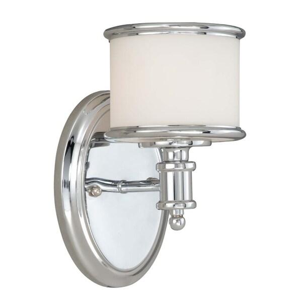 "Vaxcel Lighting CR-VLU001 Carlisle Single Light 8"" High Wall Sconce"