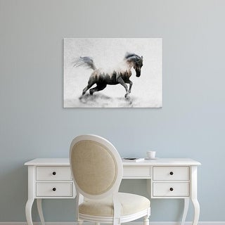 Easy Art Prints Andreas Lie's 'Hest' Premium Canvas Art