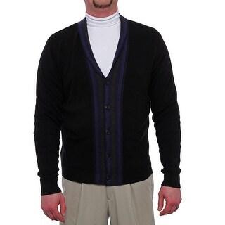 Perry Ellis Long Sleeve Shawl Cardigan Sweater Men Regular Sweater Top