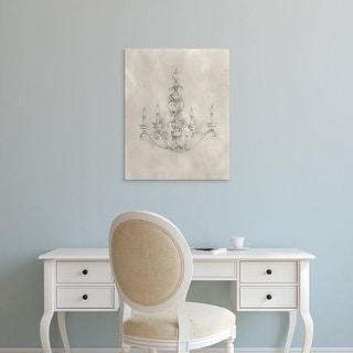 Easy Art Prints Ethan Harper's 'Chandelier Schematic III' Premium Canvas Art