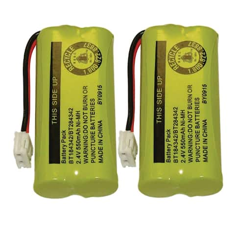 Replacement Clarity 6010 Battery for D603 / D613 Phone Models (2 Pack) - Multicolor