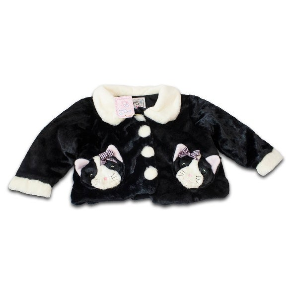 Fuzzy Wear Girls Kitty Jacket, 12-18 months