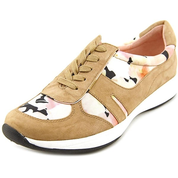 Taryn Rose Arvella Women Suede Tan Fashion Sneakers