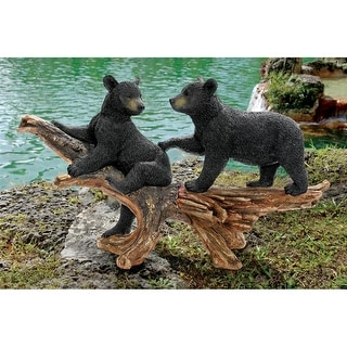 Design Toscano Mischievous Bear Cubs Sculpture