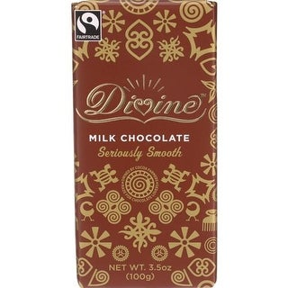 Divine - Milk Chocolate Bars ( 10 - 3.5 OZ)