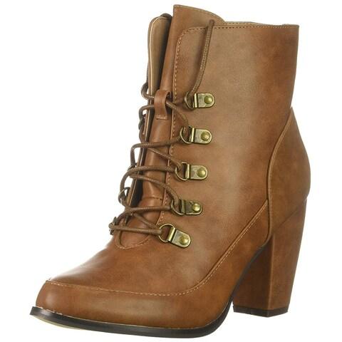 Michael Antonio Womens Maccoy Closed Toe Ankle Fashion Boots