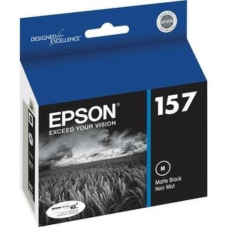 Epson 157 Ink Cartridge - Matte Black Ink Cartridge