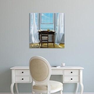 Easy Art Prints Karen Hollingsworth's 'Contemplation' Premium Canvas Art