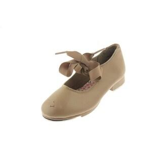 Capezio Girls Jr. Tyette Solid Patent Tap Shoes - 1.5