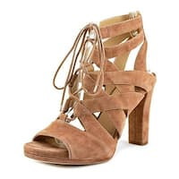 Via Spiga Womens Collette Leather Open Toe Casual Strappy Sandals