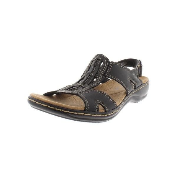 d015dcd0d5b47 Shop Clarks Womens Leisa Skip Sport Sandals Leather Wedge - Free ...
