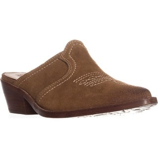 Patricia Nash Battista Slip-On Mules, Tan