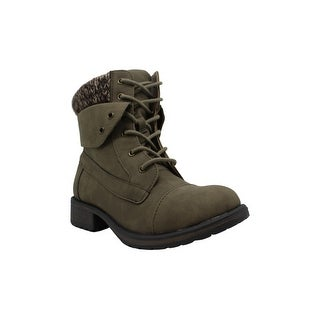 Mini MIA Girls Little Debby Toddler Faux Leather Ankle Boots Shoes BHFO 2565