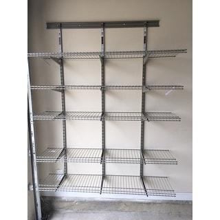 ClosetMaid 5 Shelf Nickel Wire Shelving Unit - Free Shipping Today ...