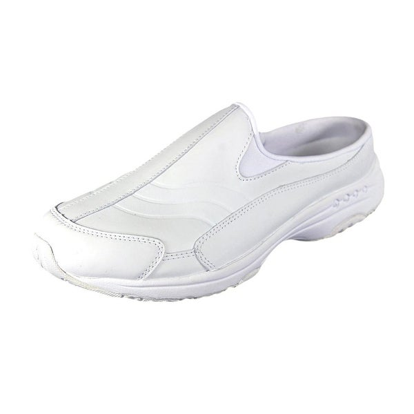 Easy Spirit Tour Guide Women N/S Round Toe Leather White Walking Shoe