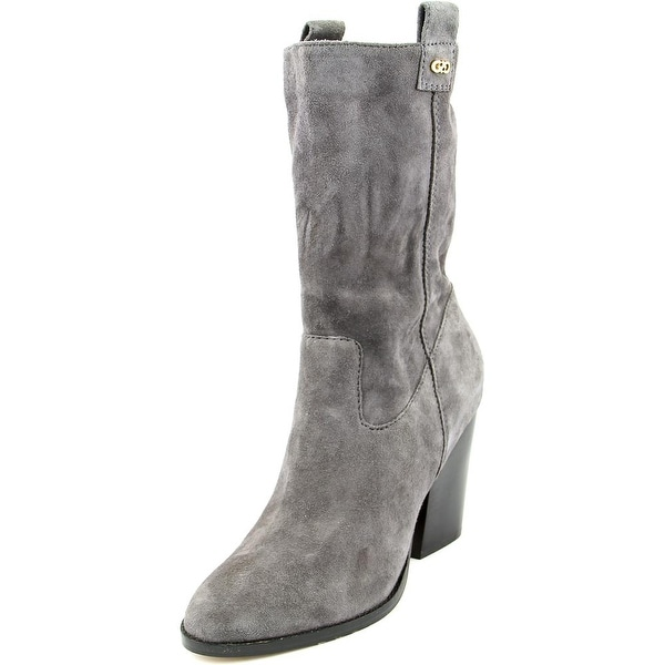 Cole Haan Nightingale Boot Women  Round Toe Suede  Mid Calf Boot
