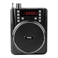 Portable Bluetooth Radio & PA Speaker System, Compact Headset