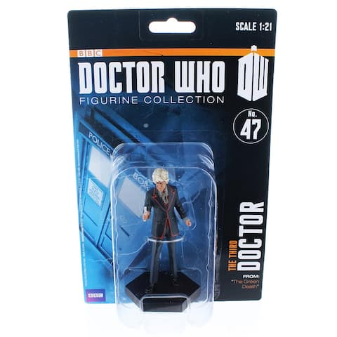 """Doctor Who 4"""" Resin Figure: The Third Doctor (The Green Death) - Multi"""